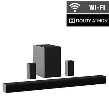 """Vizio SB36512-F6 36"""" 5.1.2 Home Theater Sound System and Wireless Subwoofer with Dolby Atmos $329.99"""