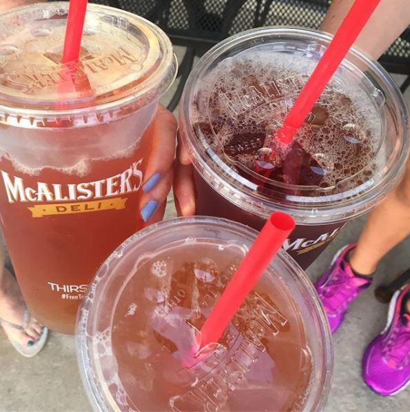 McAlister's Deli Free Tea Day - Free 32 oz. Iced Tea on June 21st