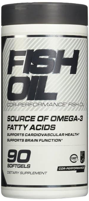 Cellucor Cor-Performance Fish Oil, 90 Count at Amazon ($1 Each) Alive Again... (AUG 1)