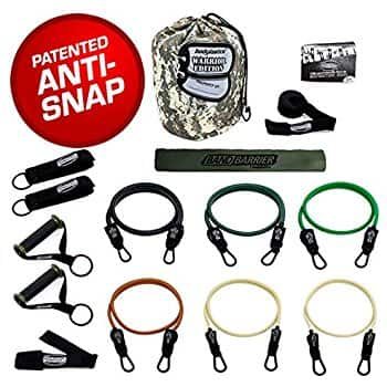 Bodylastics The Military Ready Warrior Resistance Band Set (156lbs) $36.95 (Amazon)