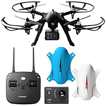 70% Off F100 Ghost Drone Quadcopter with 1080p Camera and Two LiPo Batteries - $54 + Tax w/ Prime