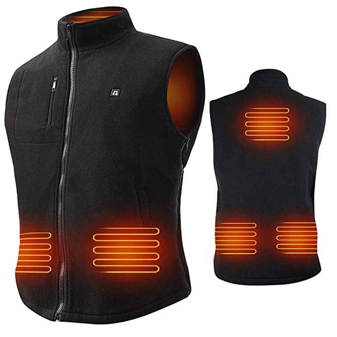 Heated Fleece Vest w/ 7.4V LiPo - 50% Off Code $52.21