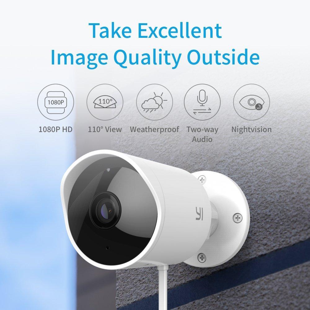 YI Outdoor Camera $68 Amazon Lightning deal