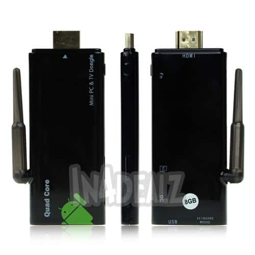 CX-919 Android PC Stick - Quad core, 1.6Ghz, Bluetooth, WiFi, 4.2 JellyBean OS, 2GB RAM, Best Rated - $62.99 - FREE SHIPPING