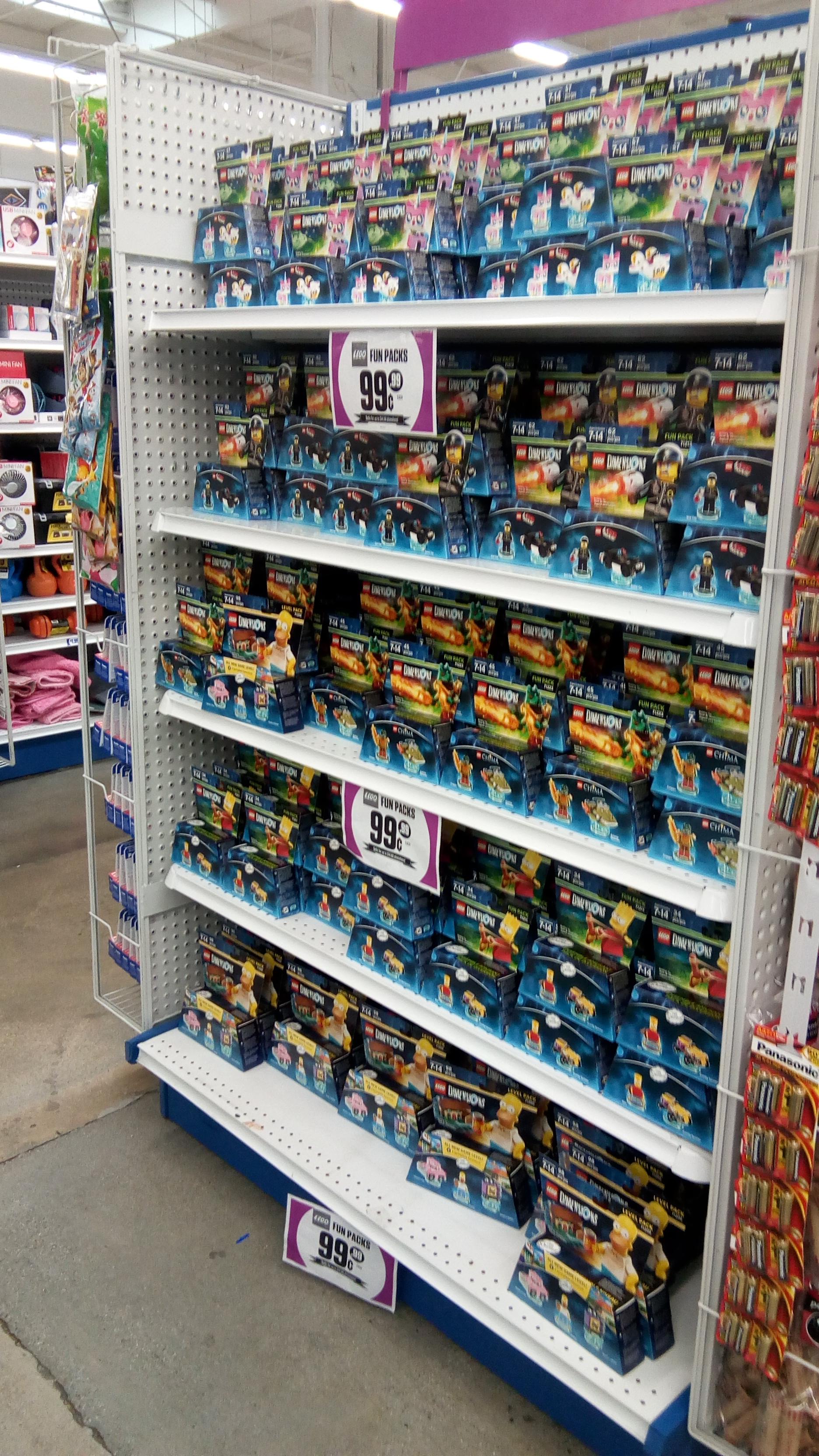 A Few LEGO Dimensions Models 34 62 Pcs Each 1 99c Only Stores Ymmv Bm CA NV TX AZ