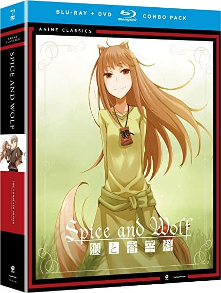 Anime Complete Series Blu-rays: Spice and Wolf $20, Serial Experiments Lain $18, Elfen Lied $18.50 and More @ Amazon