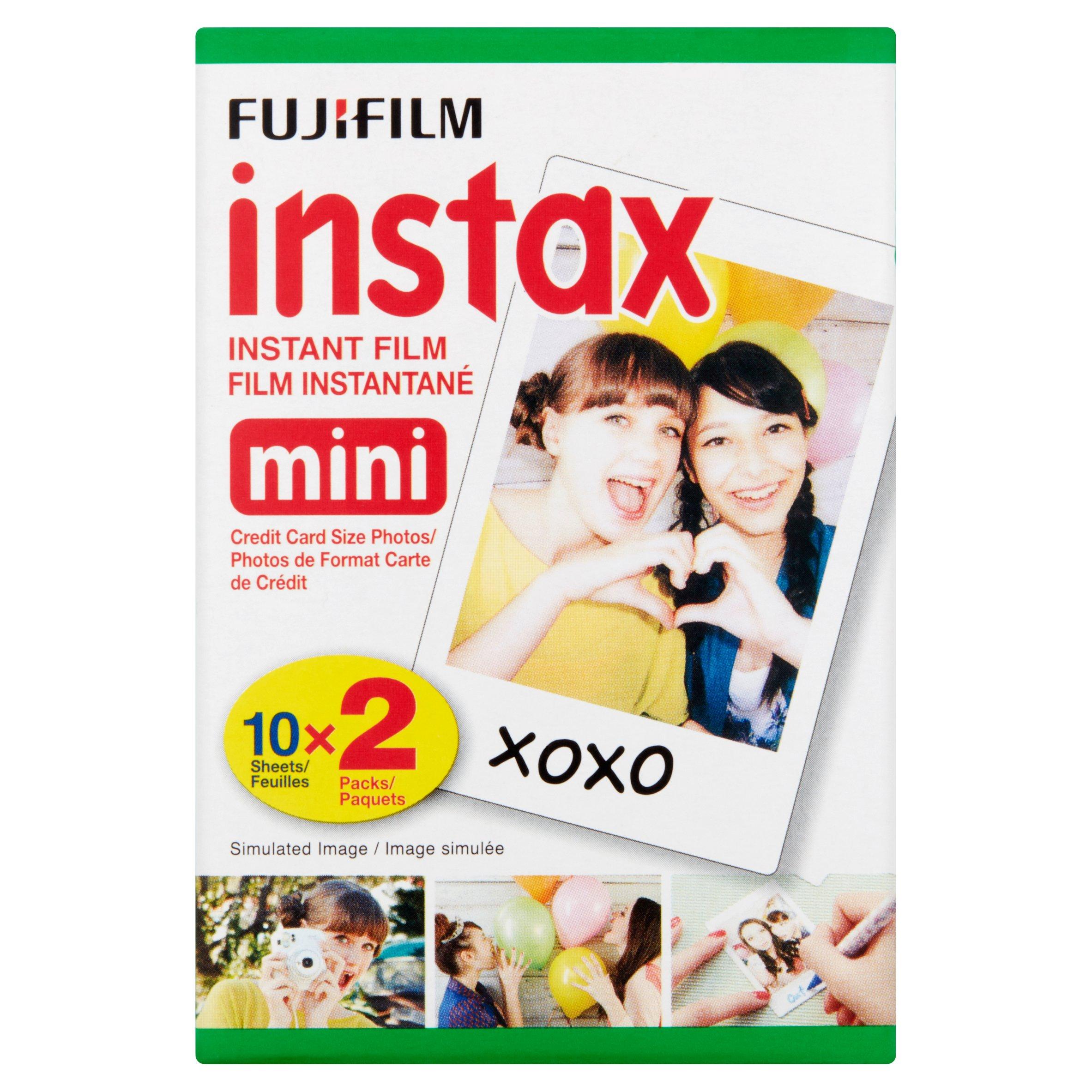 Fujifilm Instax Mini Twin Film Pack (20 Photos) $11.25
