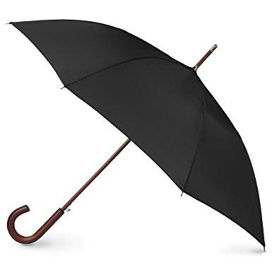 Totes Auto Open Wooden Stick Umbrella $11.90 + free shipping