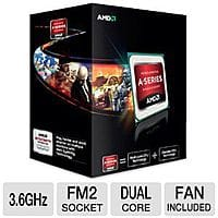 TigerDirect Deal: AMD A6-5400K unlocked FM2 dual-core processor boxed for $29.99 w/ free shipping at TigerDirect...