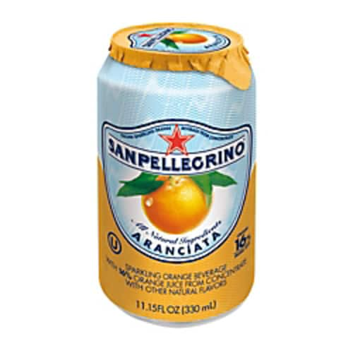 SANPELLEGRINO Italian Sparkling Fruit Beverage, 11.15 Oz, Aranciata (Orange), Pack Of 12 $9.99