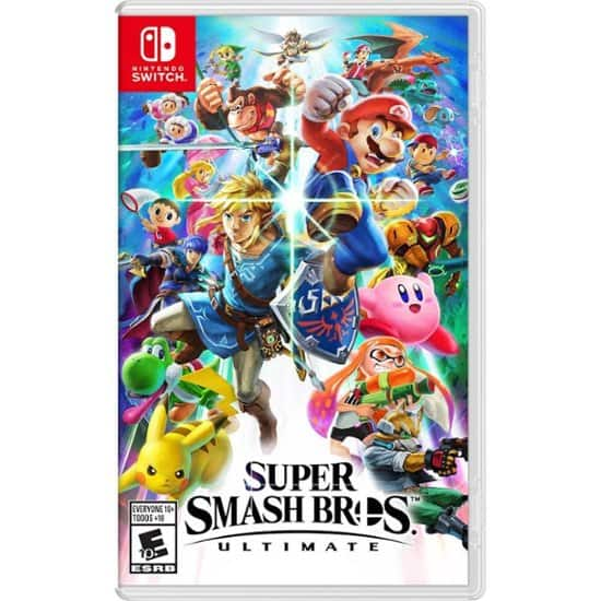 Nintendo Switch - Super Smash Bros Ultimate for $49.99/$39.99