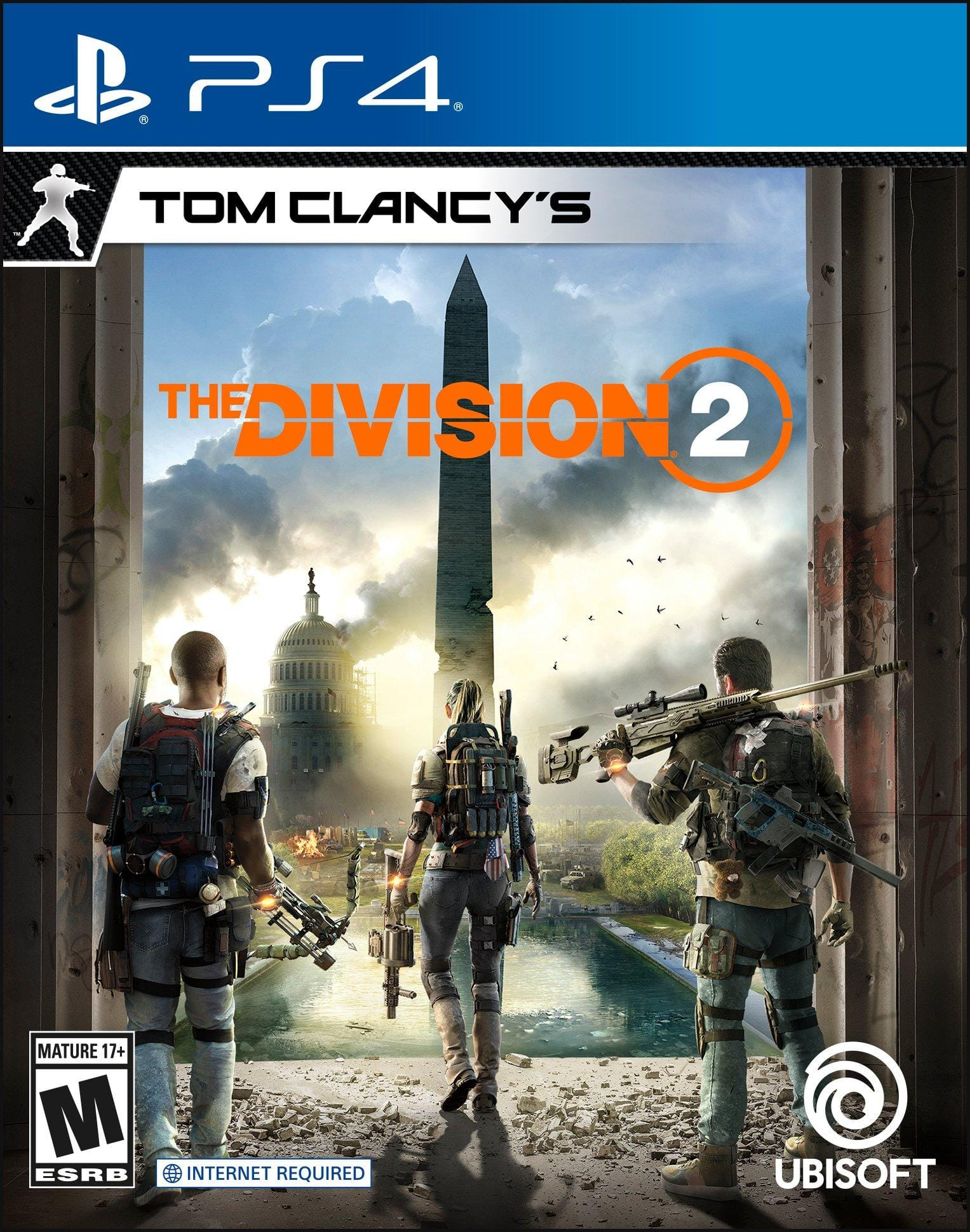 PlayStation 4 Tom Clancy The Division 2 at GameStop for $9.99
