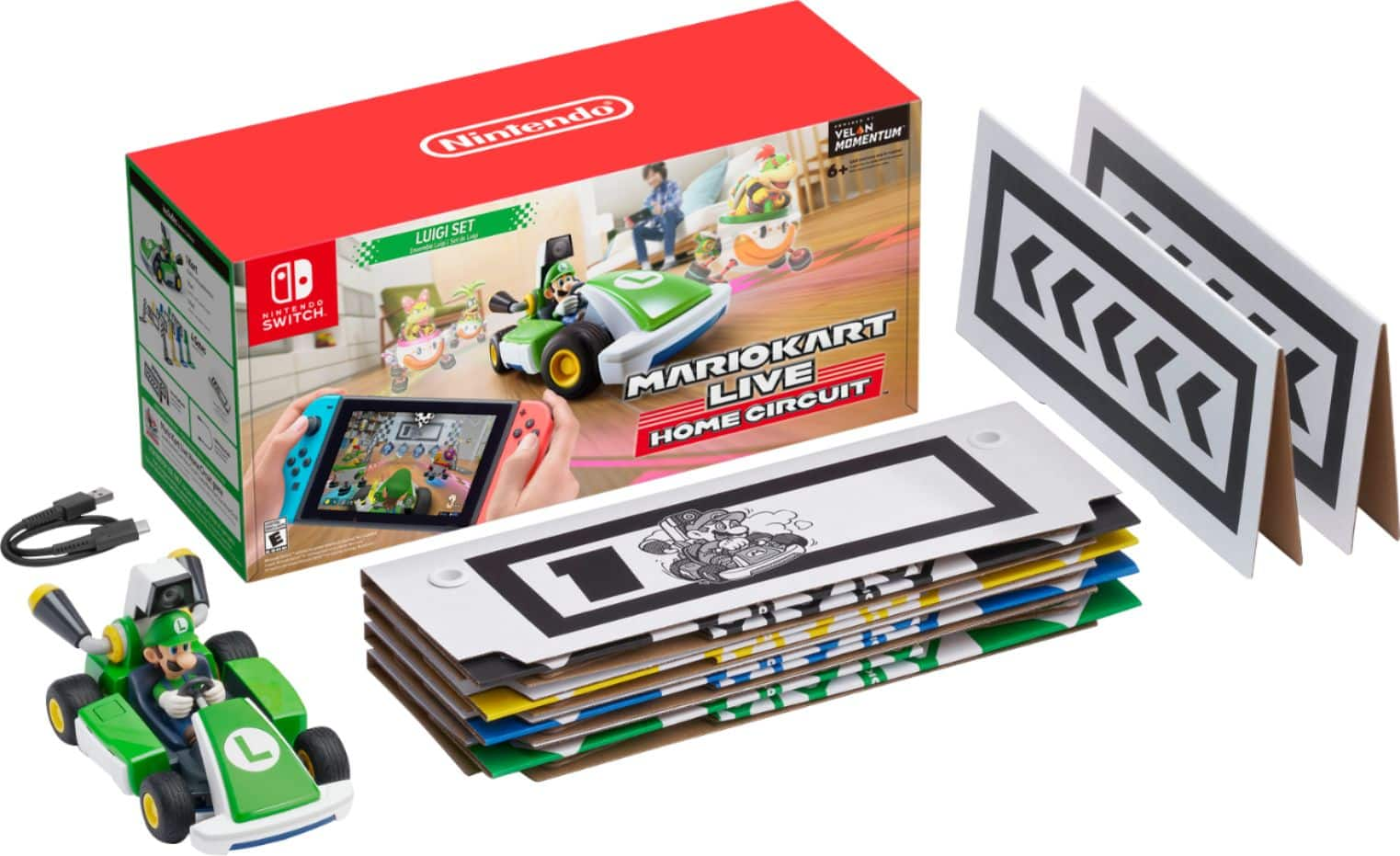 Mario Kart Live: Home Circuit Luigi Edition Nintendo Switch, Nintendo Switch Lite HACRRMBAA - Best Buy