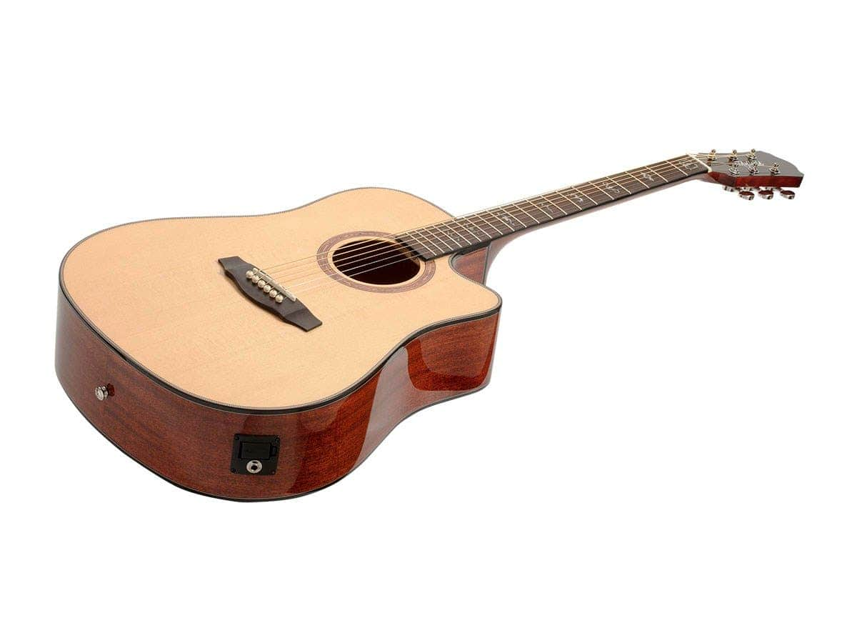 Idyllwild by Monoprice Solid Spruce Top Acoustic Guitar $136 +tax Free ship