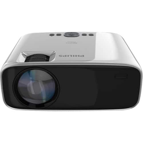 Philips NeoPix Prime LCD Projector Black/Silver NPX540/INT - Best Buy $99.99