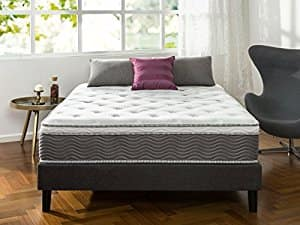 Zinus 12 Inch Performance Plus / Extra Firm Spring Mattress, Twin $139