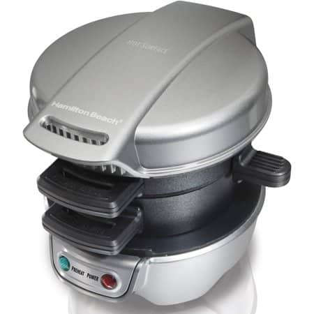 Refurbished Hamilton Beach Breakfast Sandwich Maker $15.20
