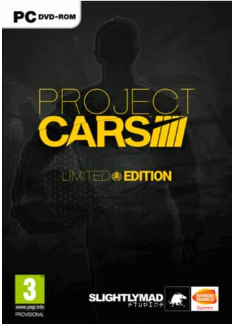 Project CARS Limited Edition PC (Digital Delivery) - $23.80 (50% off) or less at cdkeys.com