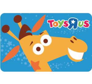"""Buy (2) $25 Toys""""R""""Us Gift Card for $40"""