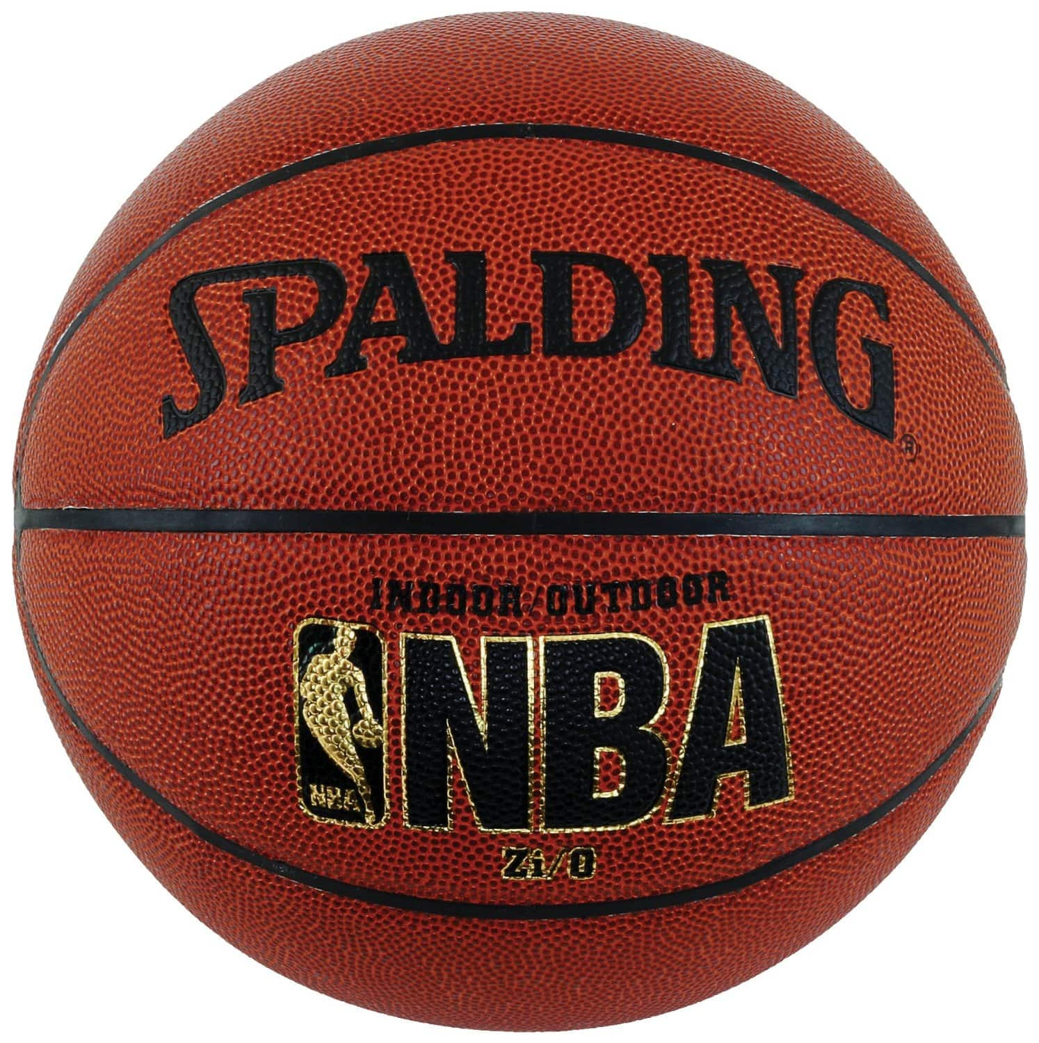 Spalding NBA Zi/O Indoor/Outdoor Basketball - Official Size 7 $19.99