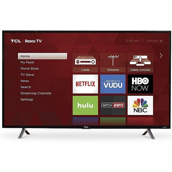 TCL 49S305 49-Inch 1080p Roku Smart LED TV (2017 Model) - $279.99