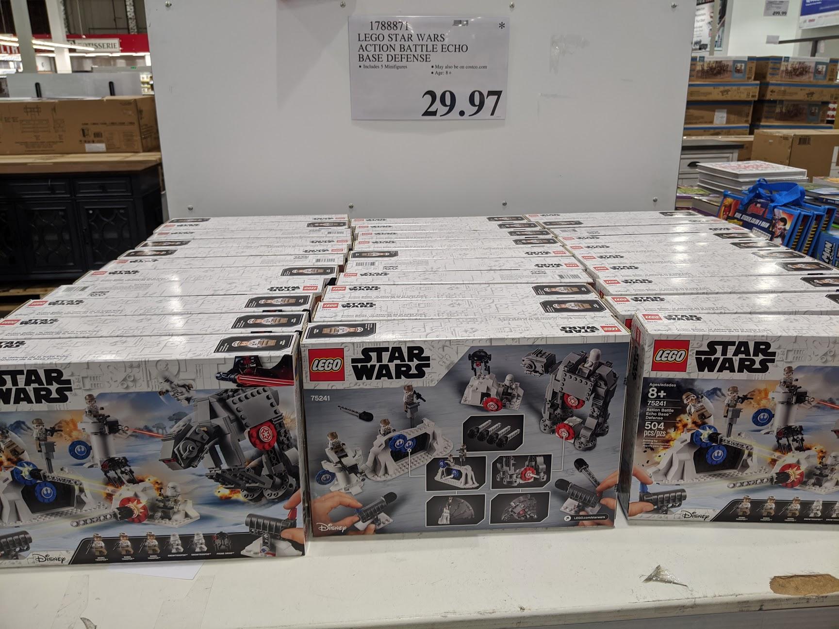 LEGO Star Wars Action Battle Echo Base Defense #75241 $29.97 - Costco B&M YMMV