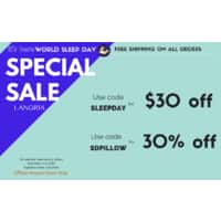 30% or $  30 Off on LANGRIA World Sleep Day Special