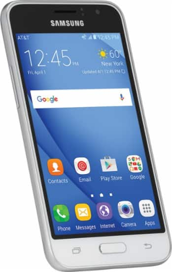 AT&T GoPhone - Samsung Galaxy Express 3 4G LTE Prepaid Cell Phone for $49.99 @bestbuy