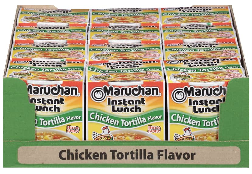 Maruchan Instant Lunch Chicken Tortilla as low as $3.67
