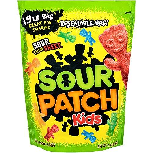 Sour Patch Kids Sweet and Sour Gummy Candy (Original, 1.9 Pound Bag) as low as $3.70 S&S