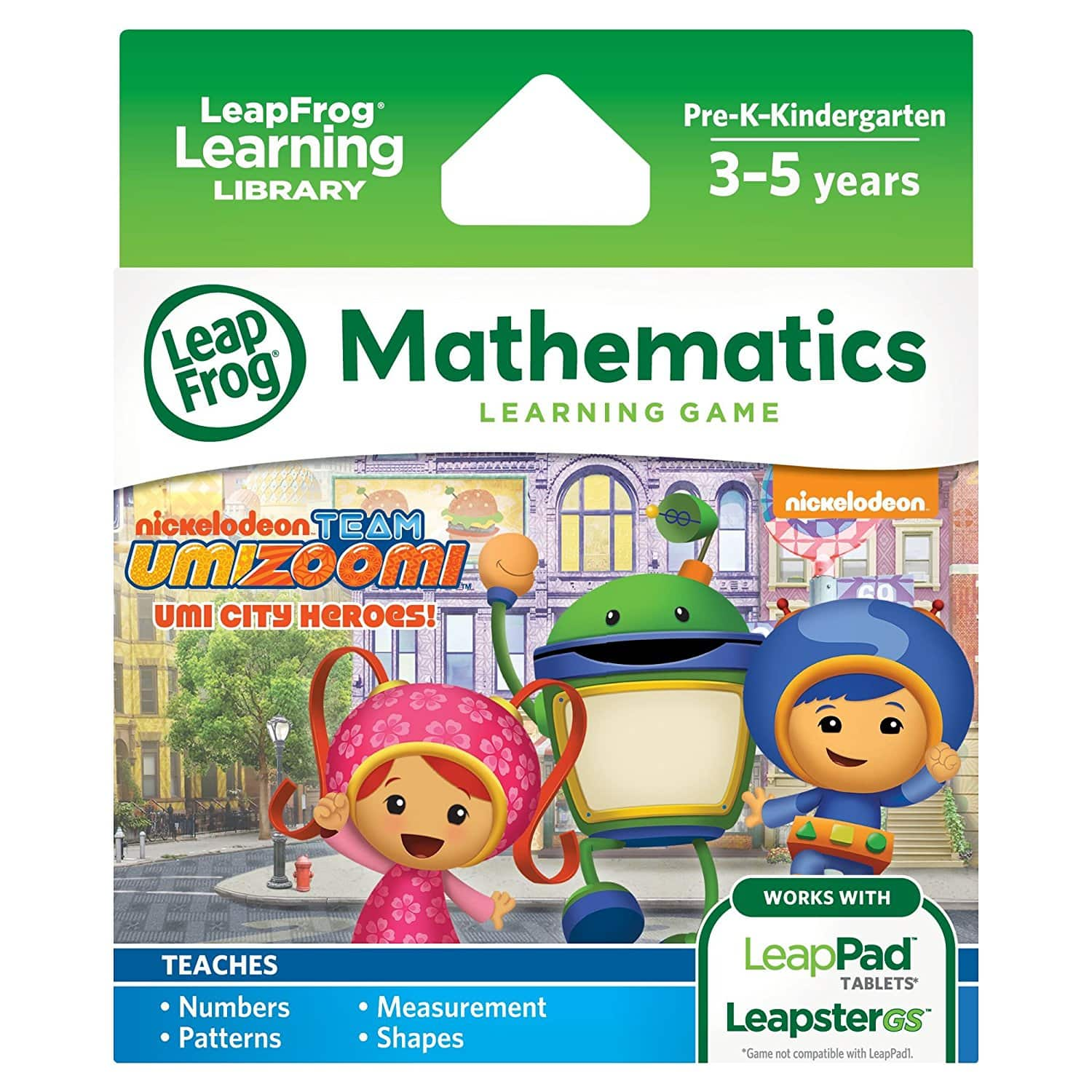 LeapFrog Team Umizoomi Learning Game PLUS $1 Digital Credit for No Rush Shipping Prime Members $1.99