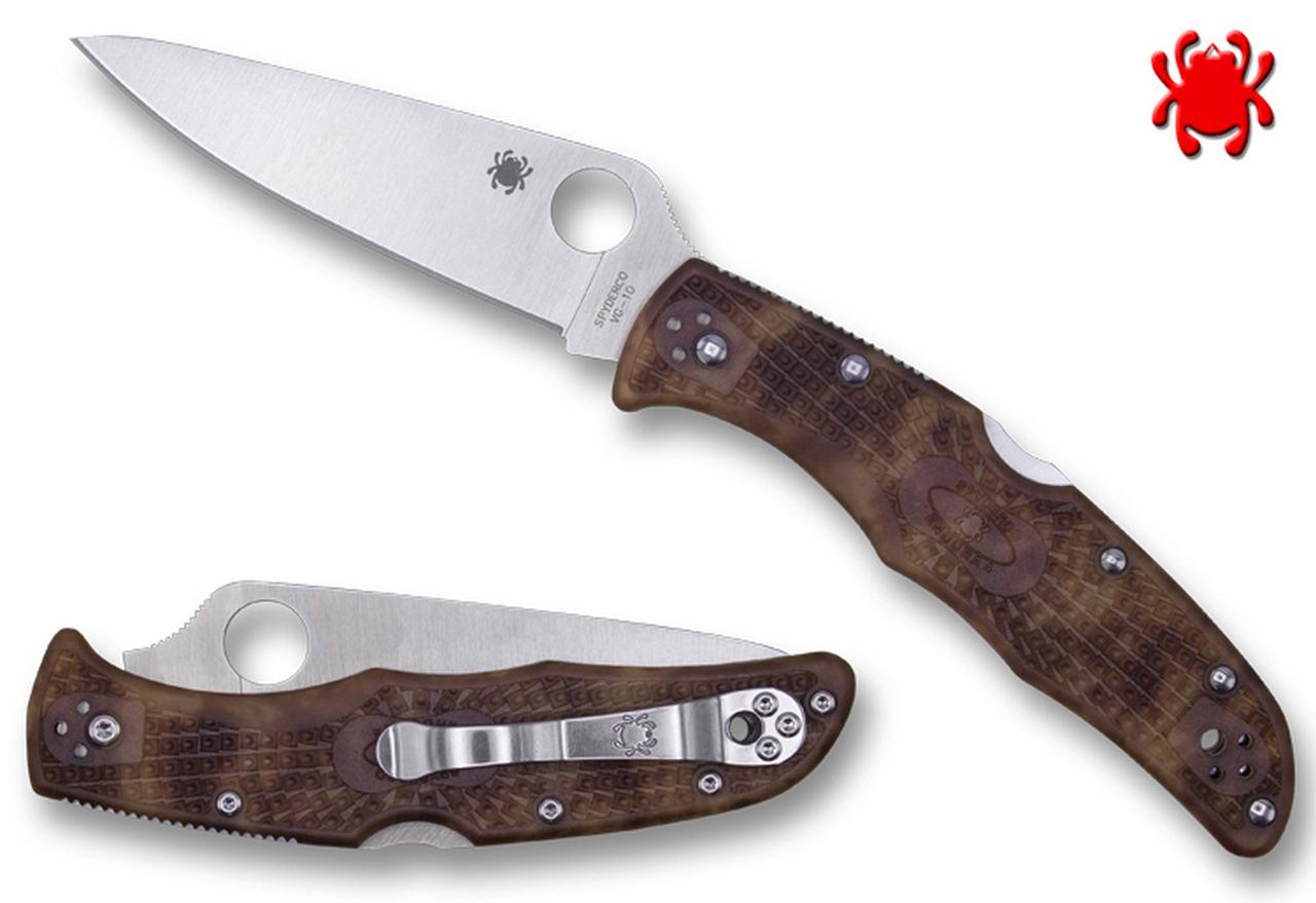 Spyderco C10ZFPDCMO Endura 4 Desert Camo Zome Knife $62.99