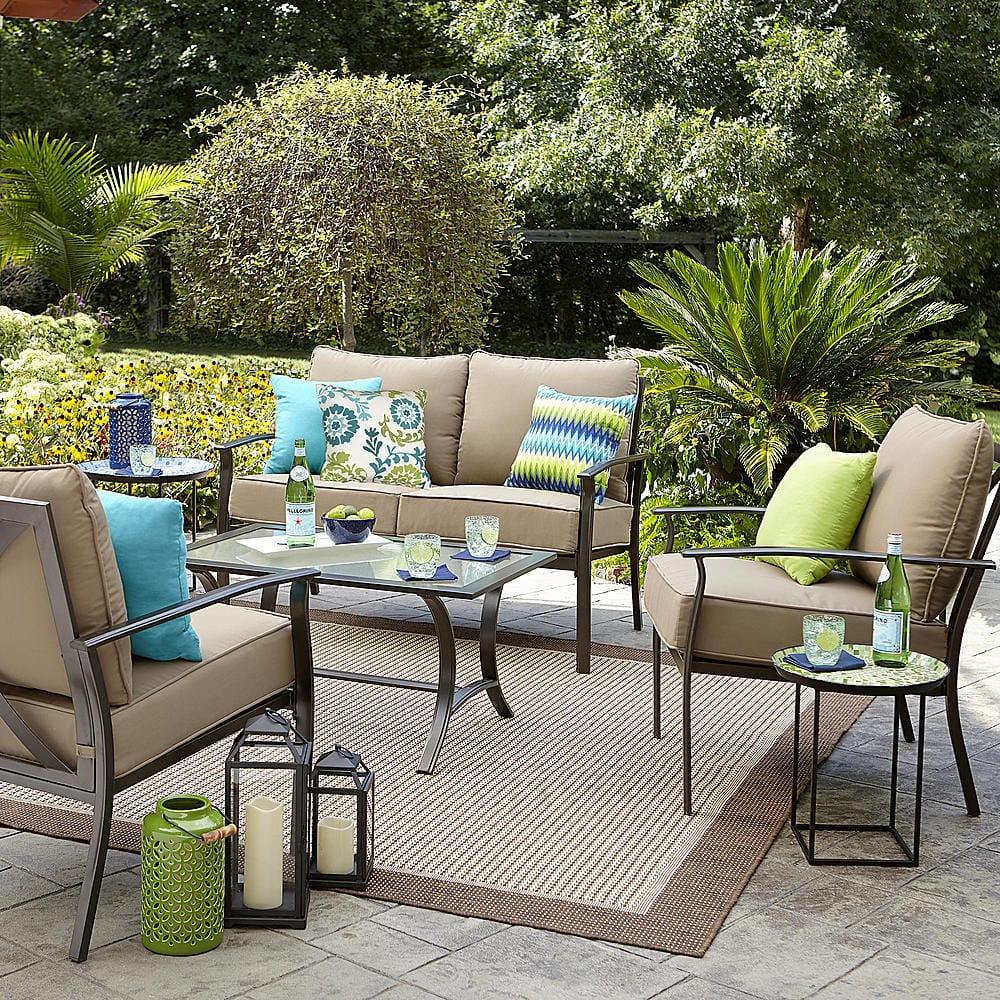 Garden Oasis Harrison 4 pc. Outdoor Seating Set and other items 100% cash back (in 12 installments) in SYW points $349