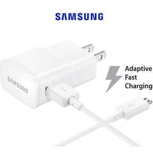 Samsung Galaxy S6 S7 OEM Adaptive Fast Charger + Micro USB Cable Authentic NEW - $5.99 FREE SHIPPING