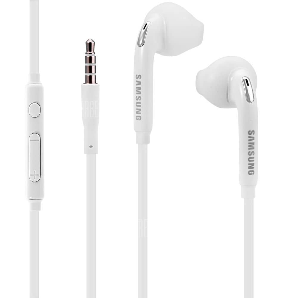 Samsung Wired Headset Earphones W/ Mic for Samsung Galaxy S6 / S7 Edge OEM - $3.99 FS