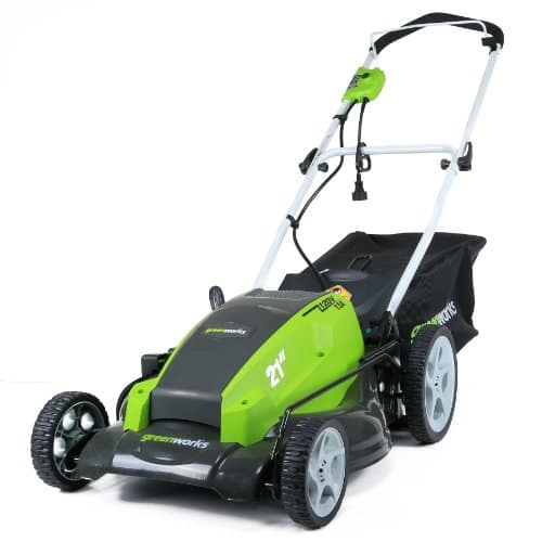 GreenWorks 25112 13 Amp 21-Inch Corded Electric Lawn Mower - $100.69 + FS or Pickup