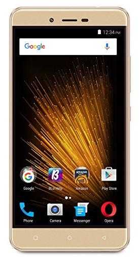 "Amazon Lightning deal BLU VIVO XL2 - 5.5"" GSM Unlocked Smartphone - 32GB+3GB RAM -Gold--$100 & free shipping"