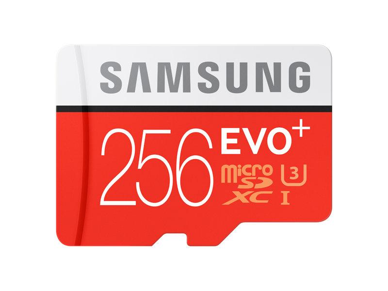 Samsung 256GB Micro SDXC EVO+ 100MB sec 2017 Model for $129.99 lowest unlocked