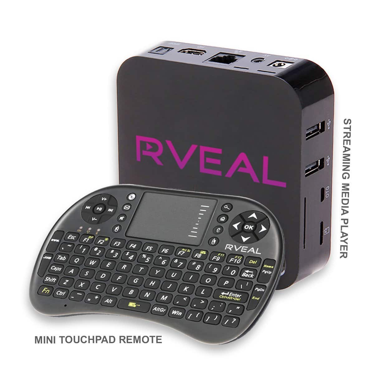 2017 Rveal Streaming Media Player & Mini Touchpad Remote (Android TV Box) $239 @ Walmart