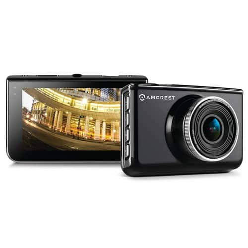 Amcrest Car DVR Dash Camera for $55.99 + Free Shipping