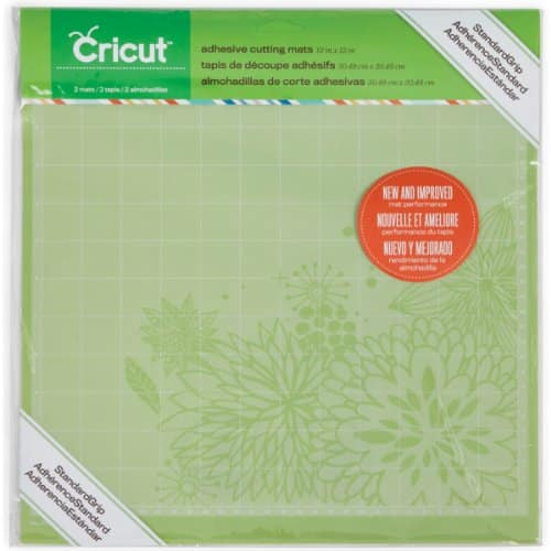Cricut 12x12 pack of 2 cutting mats $5.99 Free Shipping with PRIME