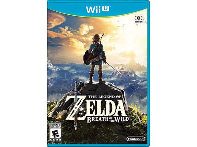 WiiU Zelda BoTW (open box) @ newegg $24.58 or less