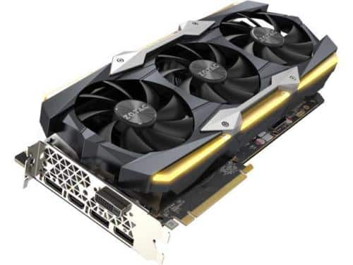 ZOTAC GeForce GTX 1080 Ti AMP Extreme Core 11GB GDDR5X 352-bit Gaming Graphics C $648