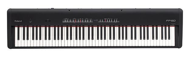 Roland FP-50 Digital Piano Black $800 + Free Shipping