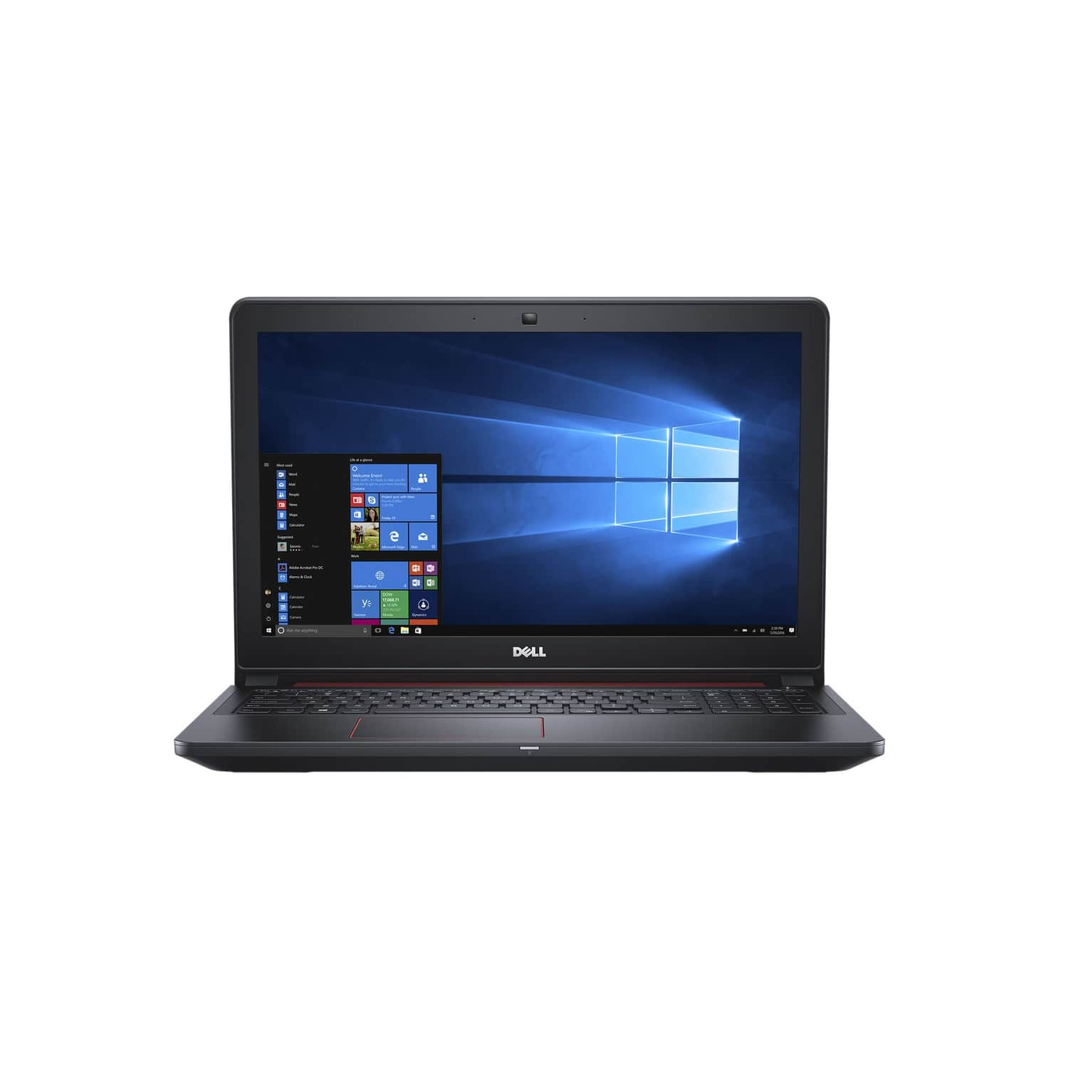 Dell Inspiron 15-5577 Notebook with Intel i7-7700HQ, 16GB 512GB SSD GTX 1050 $850