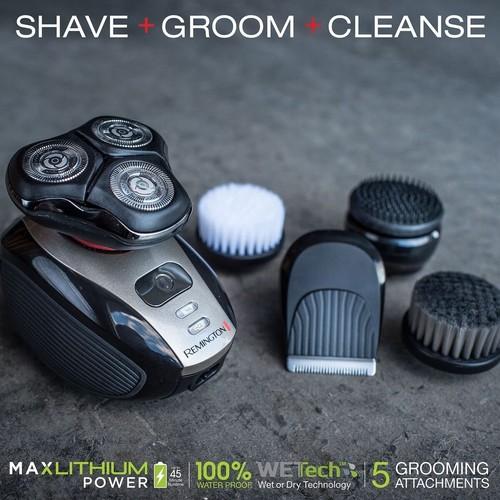 Remington Men's Shaver, Trimmer & Facial Cleaning Brush $48