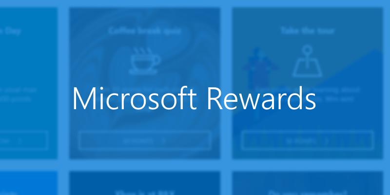 Microsoft Rewards free 1000 points - YMMV