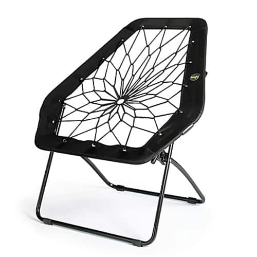bunjo oversized bungee chair in black 9 99 slickdeals net