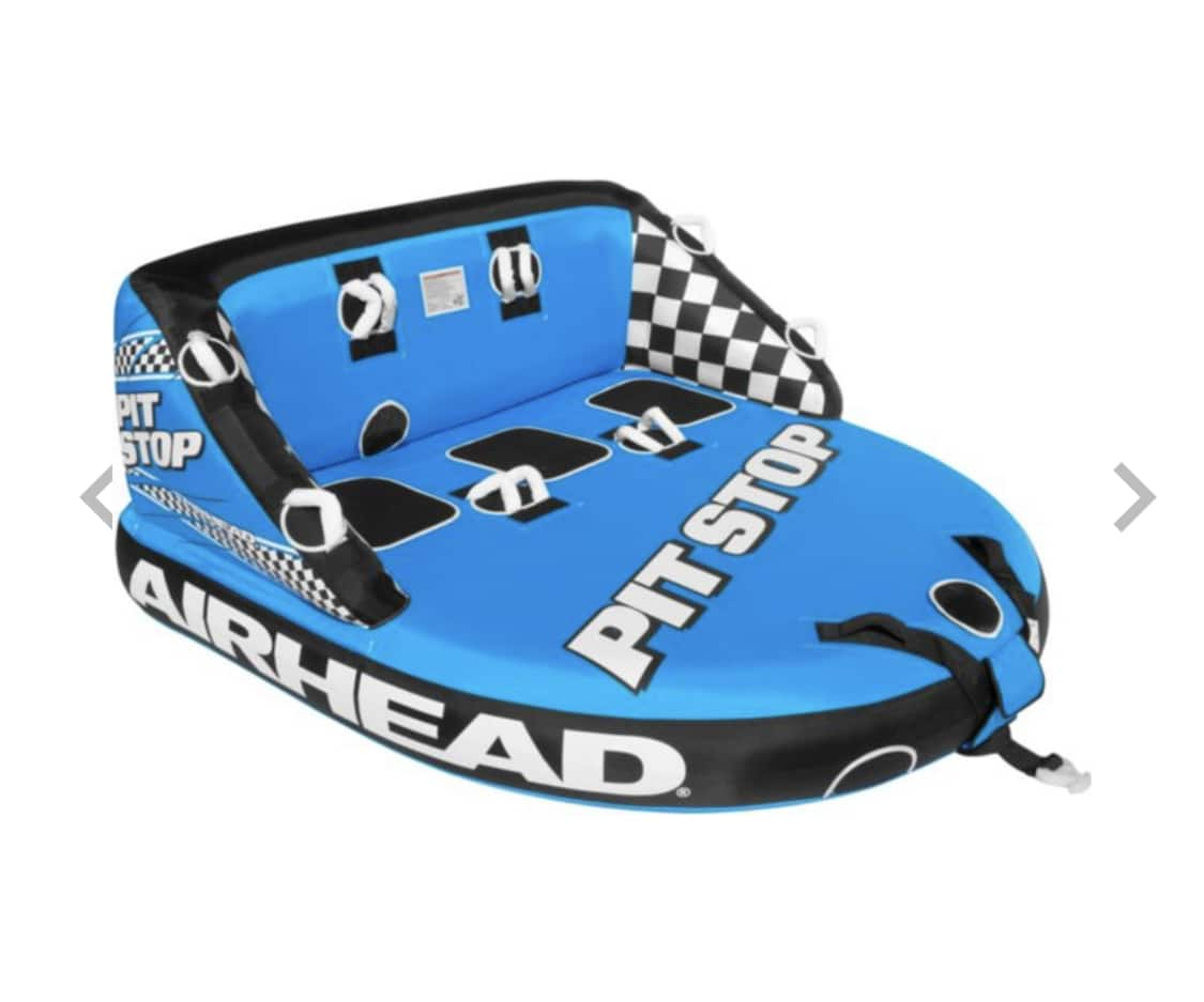 Airhead Pit Stop 3-Person Towable Tube