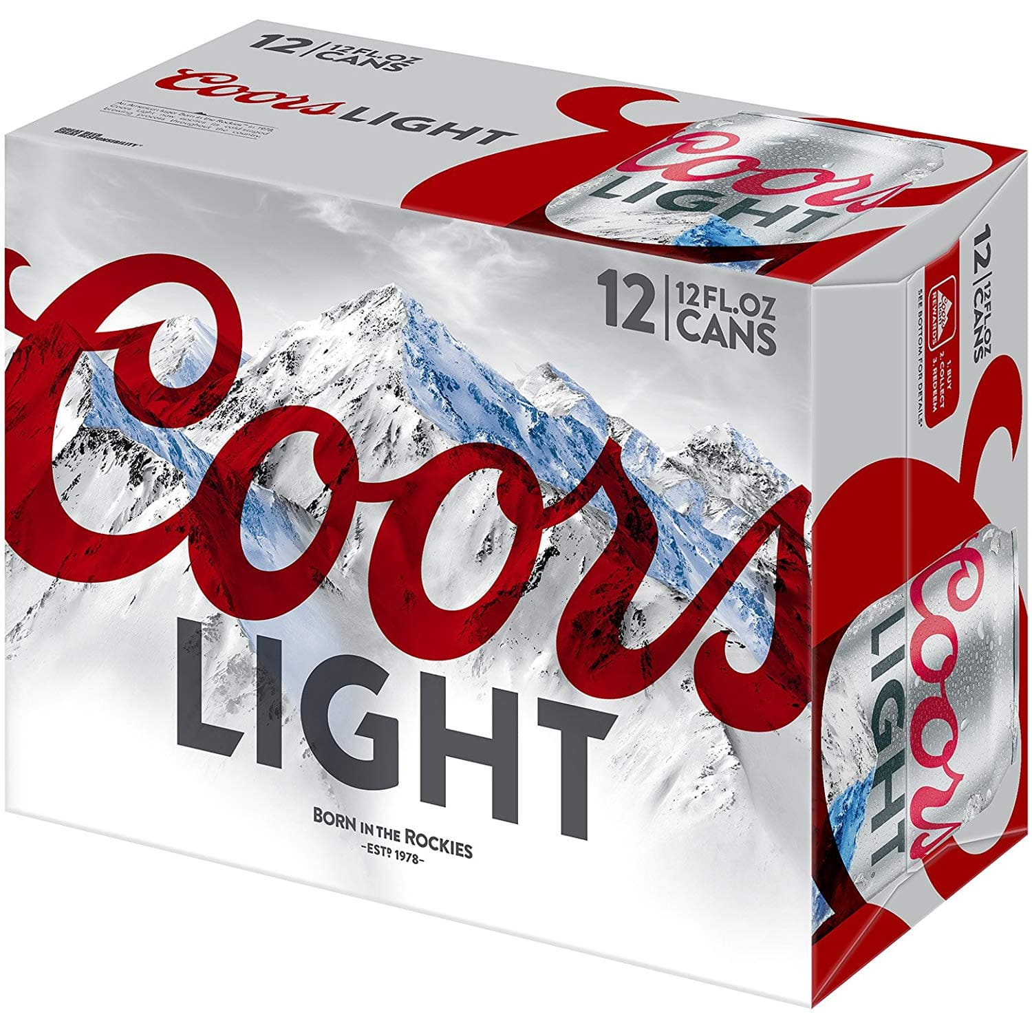 Coors Light, 12 pk, 12 oz cans, 4 2% ABV $2 4 - Slickdeals net